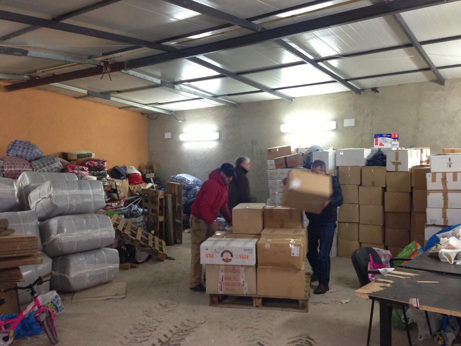 Llega el contenedor de ayuda humanitaria enviado por la Comunidad Islámica de España a Siria