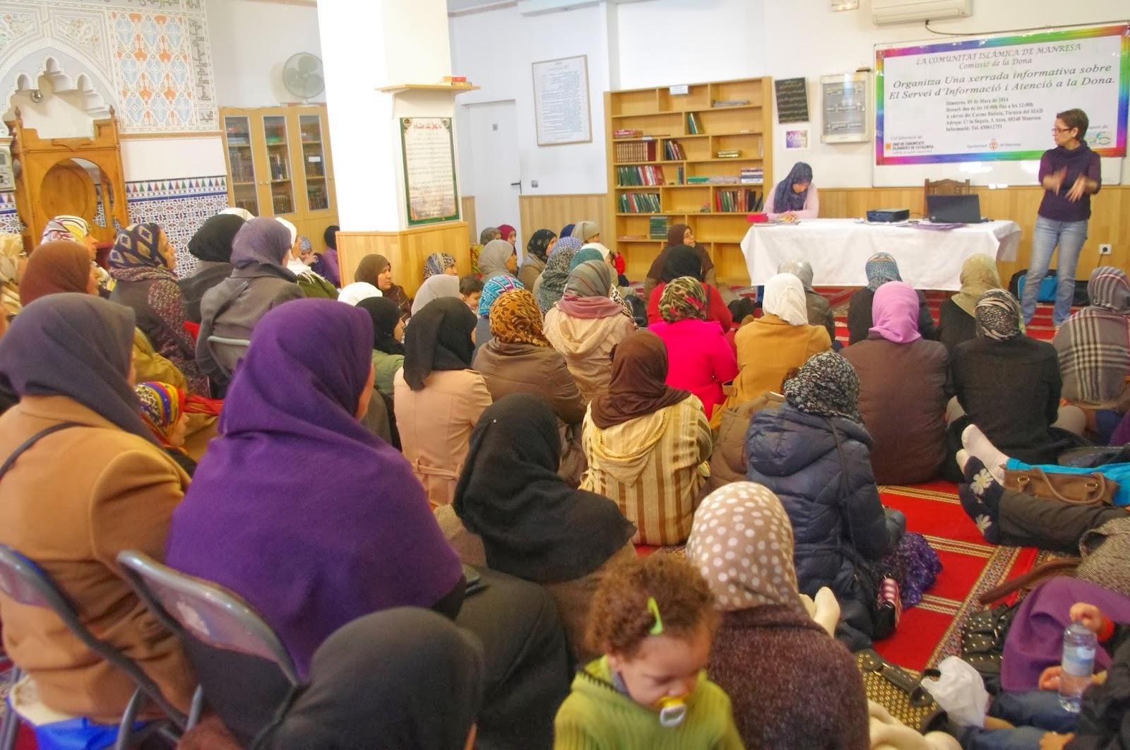 Jornada informativa sobre el Servicio de Información y Atención a la Mujer del Ayuntamiento de Manresa