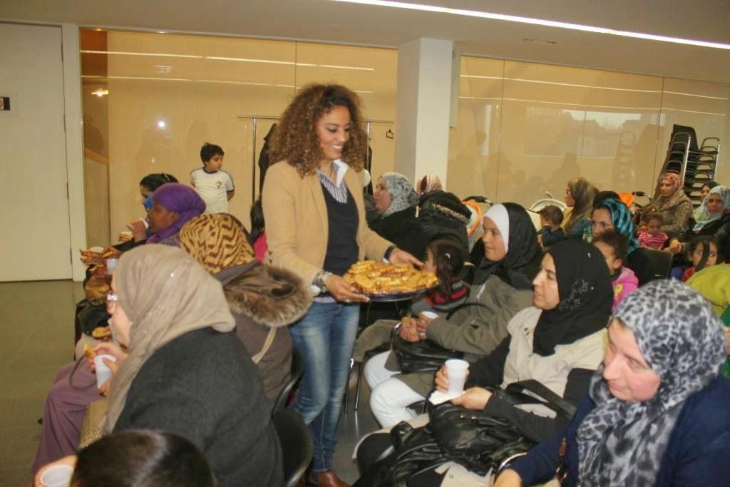La comunidad Islámica Aloumma de Lleida conmemora el día internacional de la mujer trabajadora