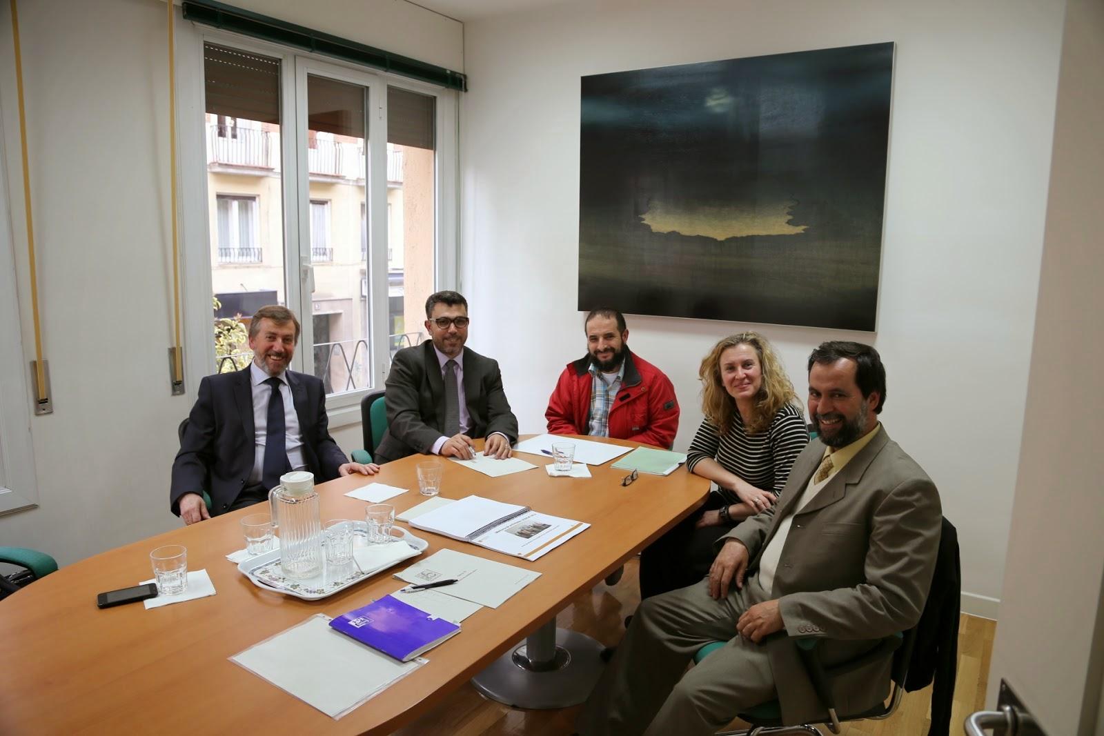 UCIDCAT se reúne con el director de la Fundación Pluralismo y Convivencia (FPC)