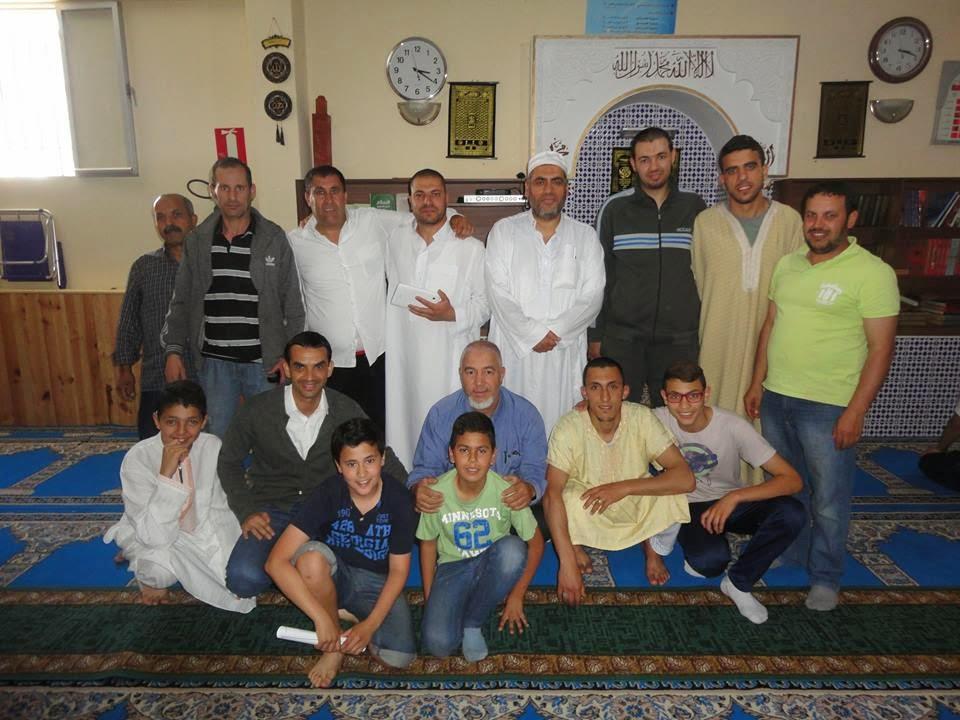 El Imam Adel Najjar en la Mezquita AlFaruq de Navalmoral de la Mata