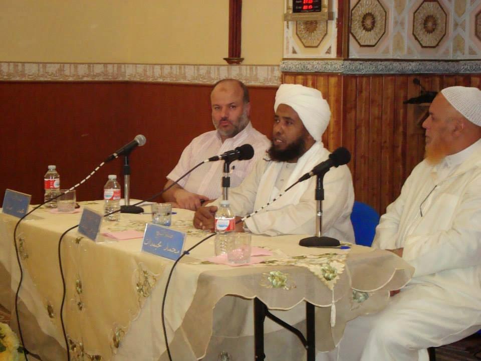 El Chaij Dr. Abdel Hay Yosef, en la Mezquita Al Umma de Fuenlabrada