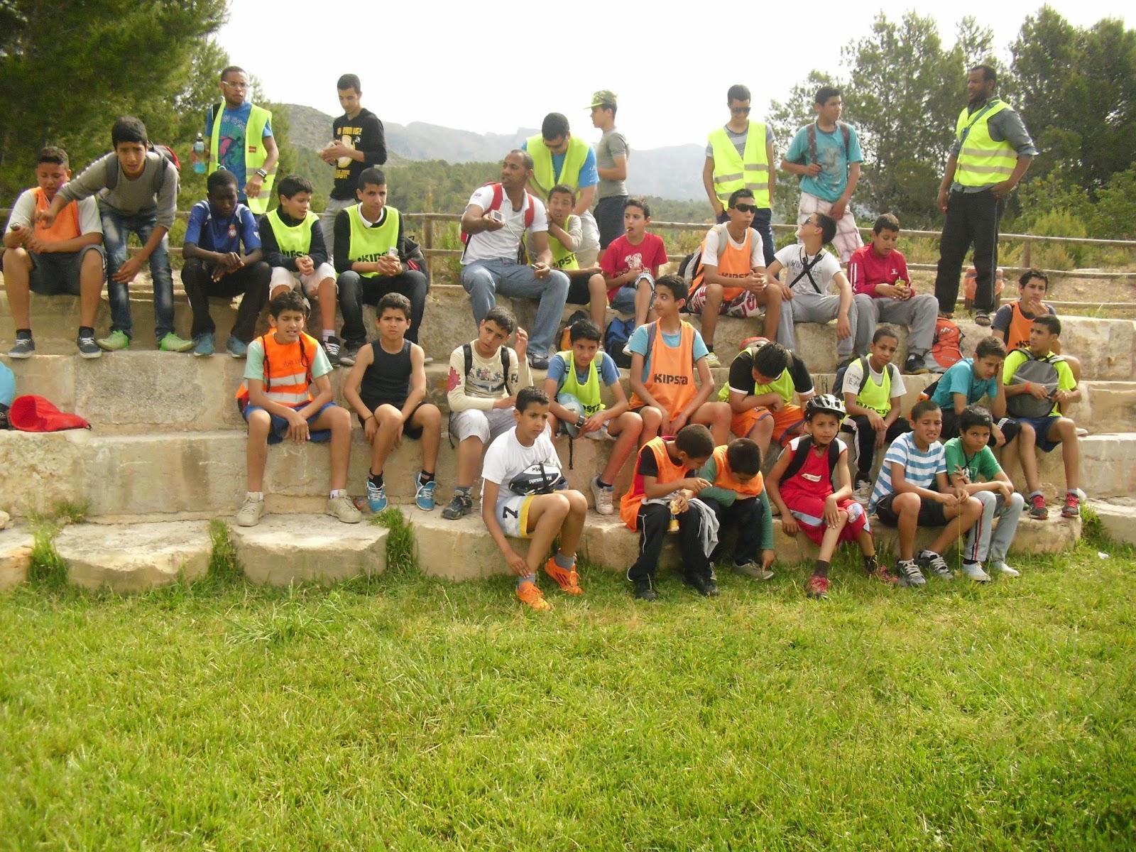 Una excursión con bicicletas para los jóvenes de Tortosa y Roquetes