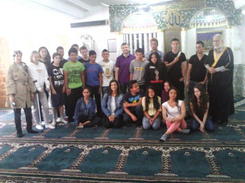 Visita del IES Marítimo en la Mezquita de Valencia
