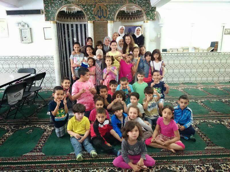 la escuela de árabe de la Comunidad Islámica de Valencia
