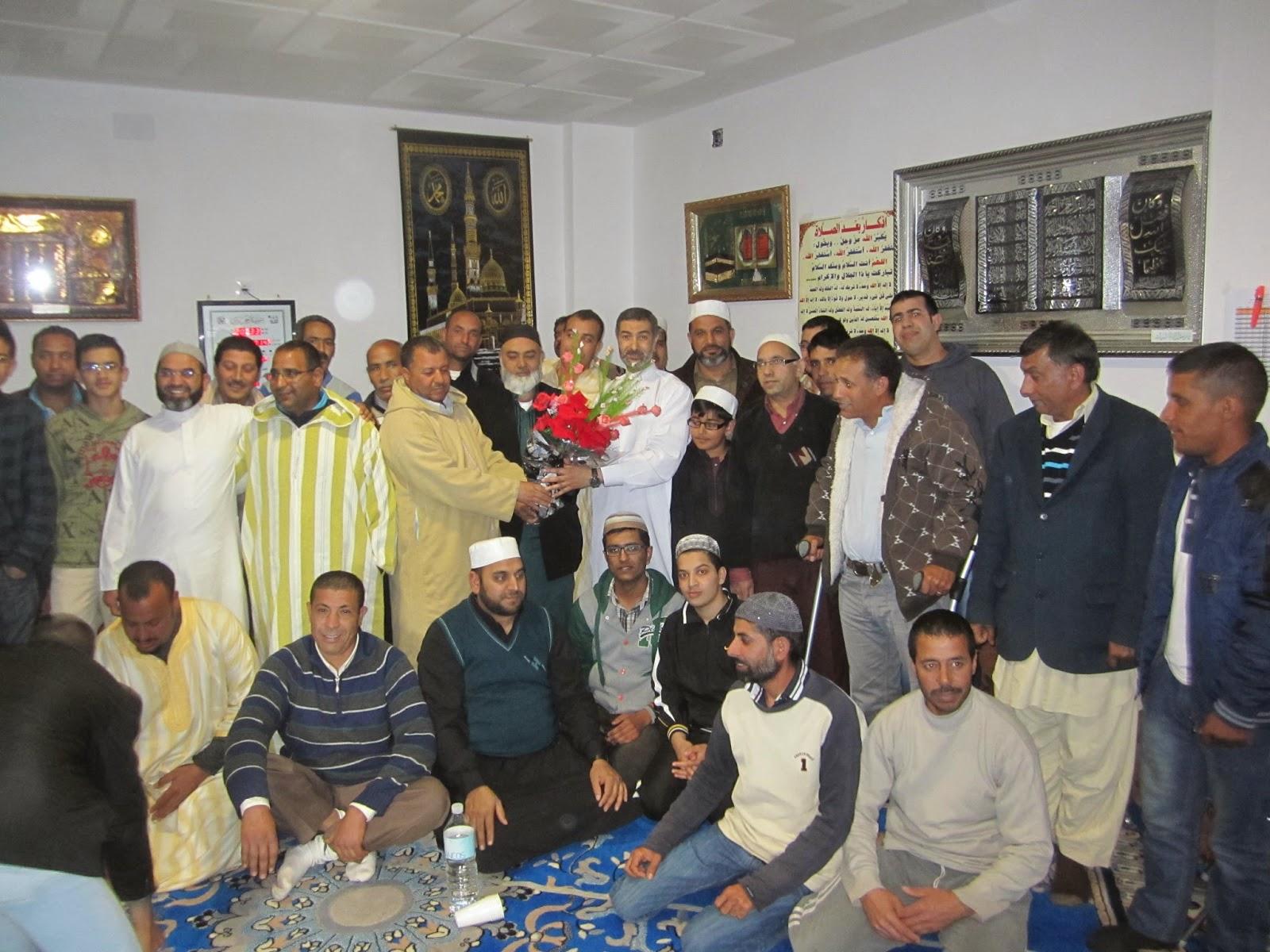 El presidete de UCIDAragón Visita la Mezquita de Utrillas