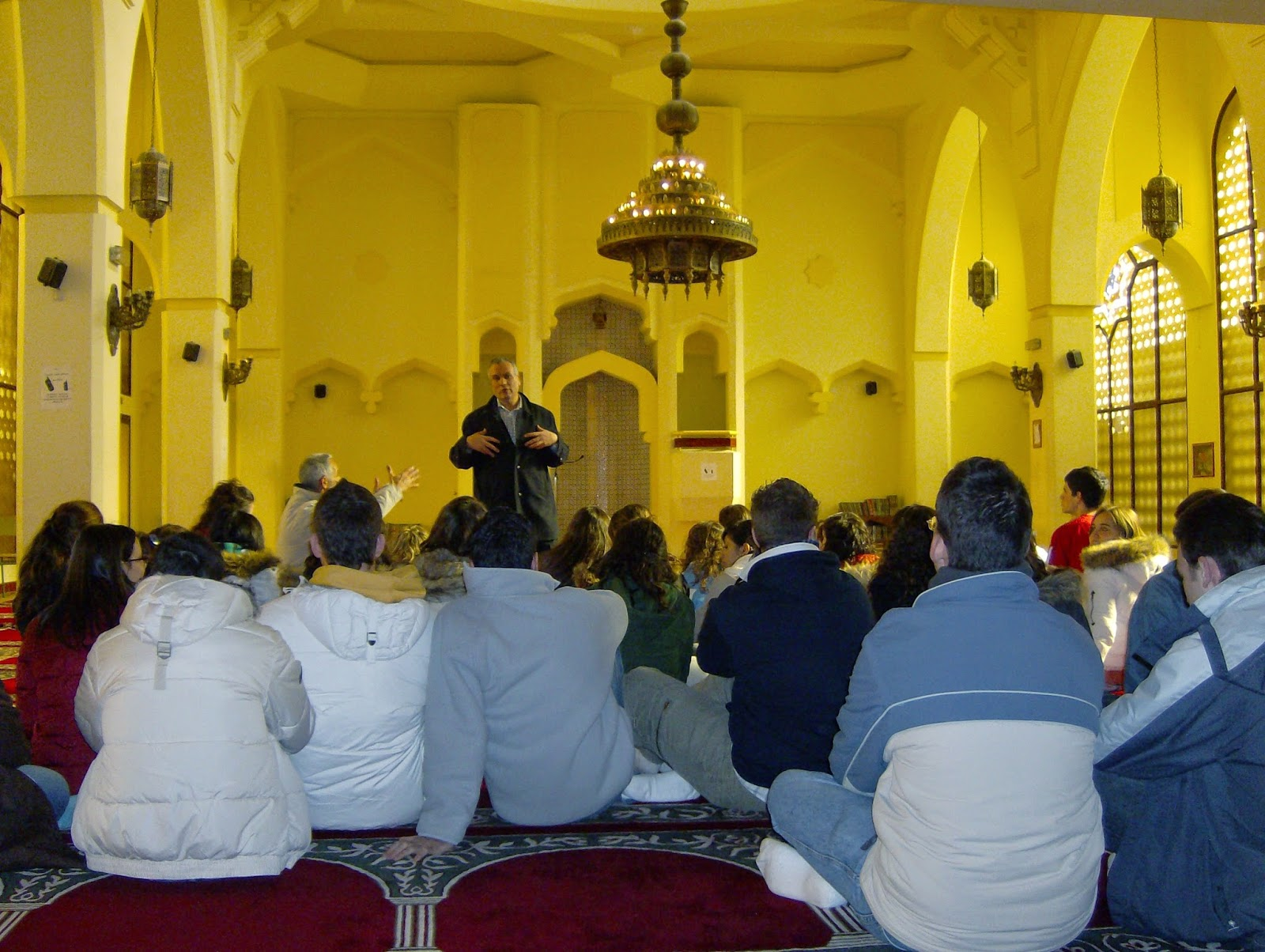IES do Castro (Vigo), visita la Mezquita Central de Madrid