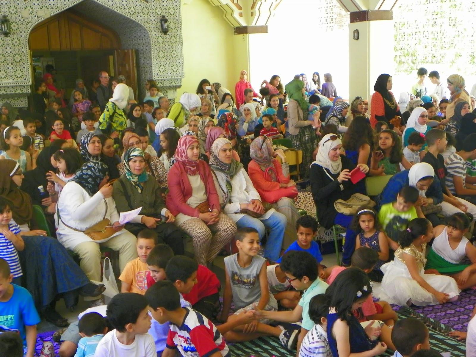 Fiesta de fin de curso de la Escuela árabe islámica de Madrid-2013-14