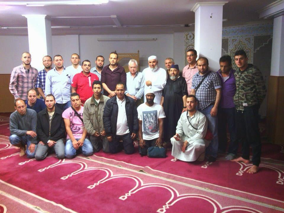 Shaij Basyuni en Bilbao de visita al País Vasco