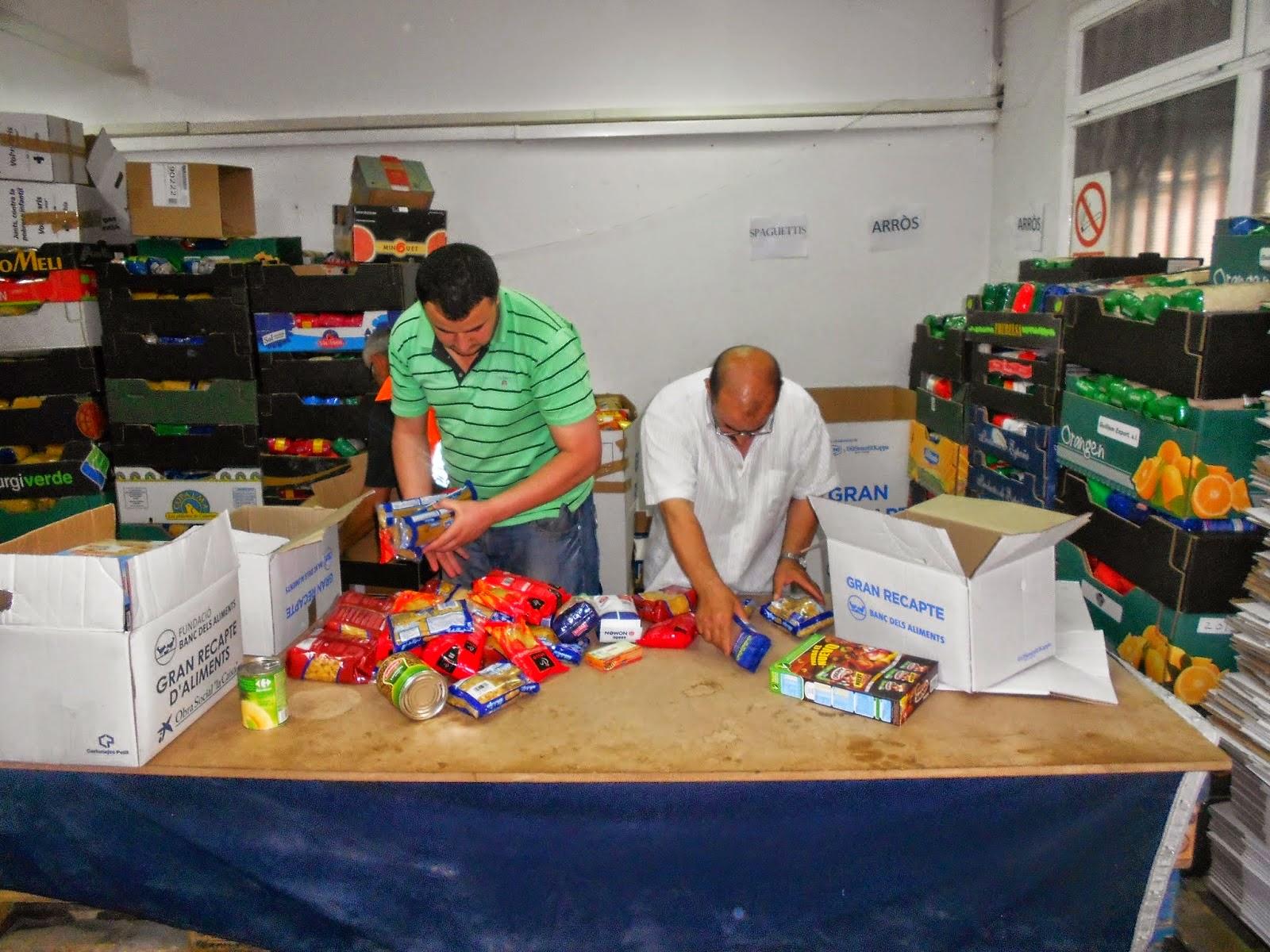 La Comunidad Islámica de Balaguer participa en la campaña de recogida de alimentos