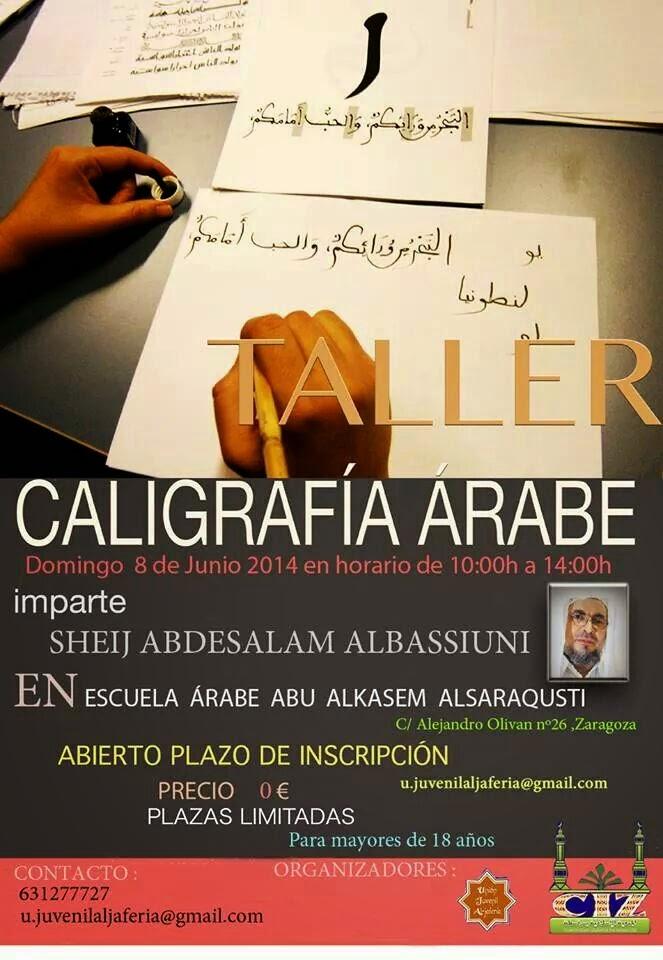 Taller de Caligrafía Árabe en Zaragoza