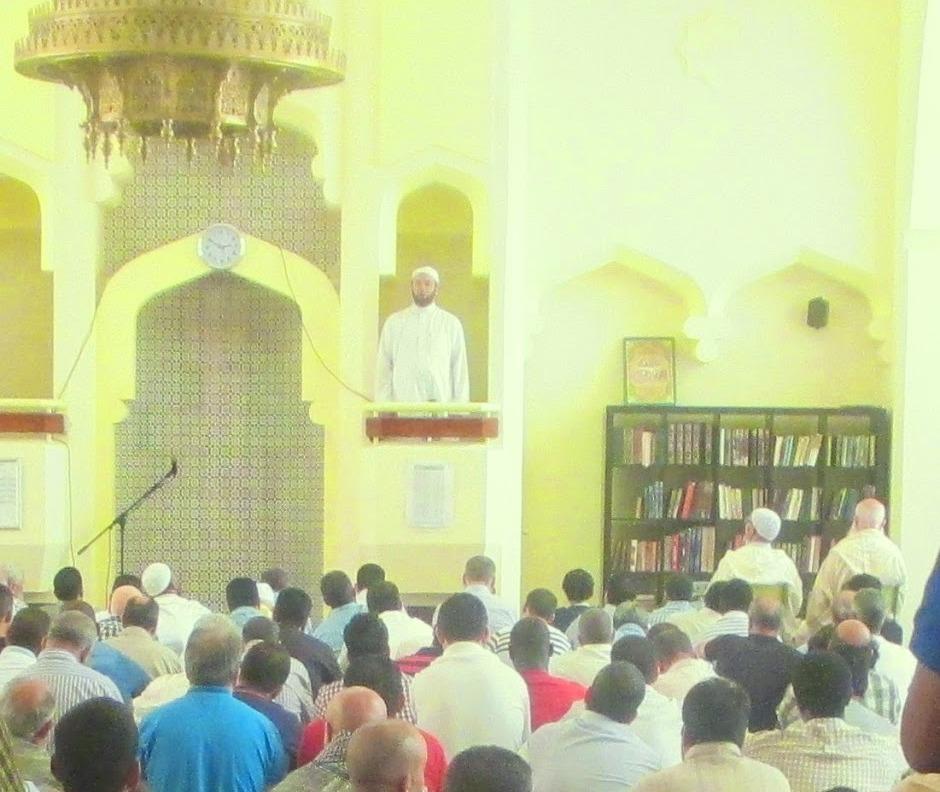 """""""Ramadan el mes del Corán""""tema de la Jutba (oratoria) en la Mezquita Central de Madrid"""