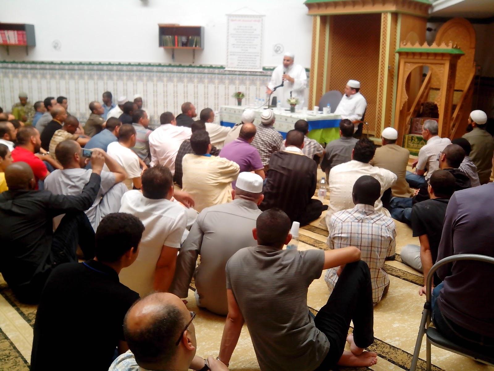 Comunidad Islámica de Pamplona, recibe al Sheij Abdelsalam Albasyuni