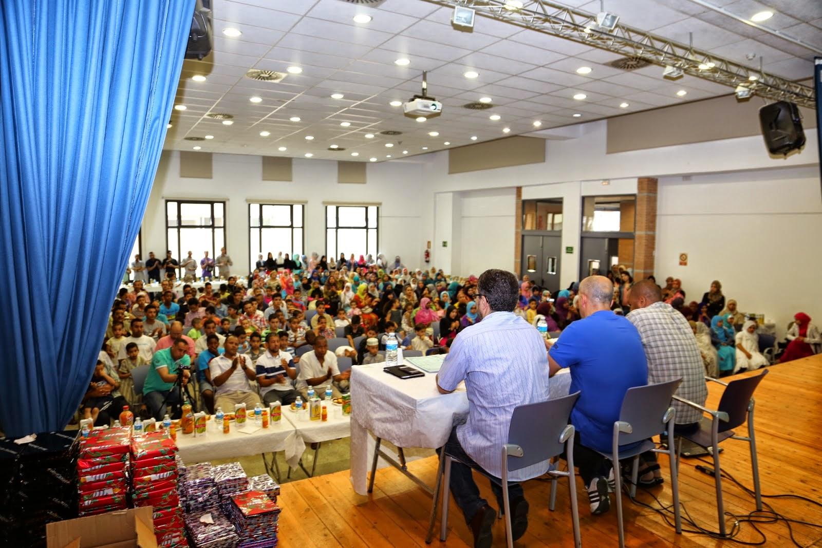 a Comunidad Islámica de Joan Despí clausura del año escolar con una fiesta multitudinaria