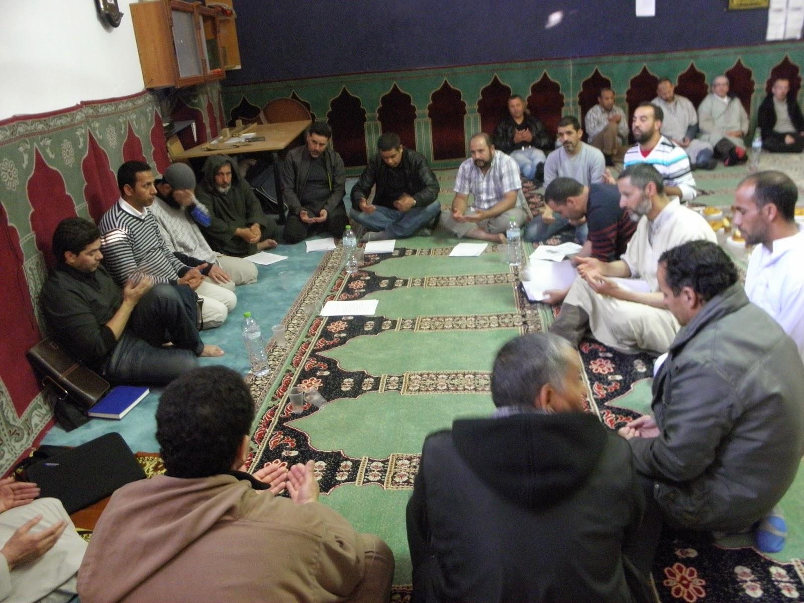 Reunión de la Unión de Comunidades Islámicas de Navarra.
