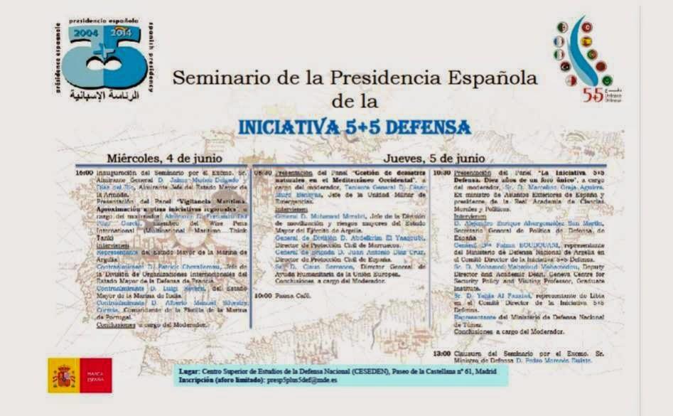 El instituto Universitario General Gutierrez Mellado, invita al presidente de UCIDE al seminario de la Presidencia Española