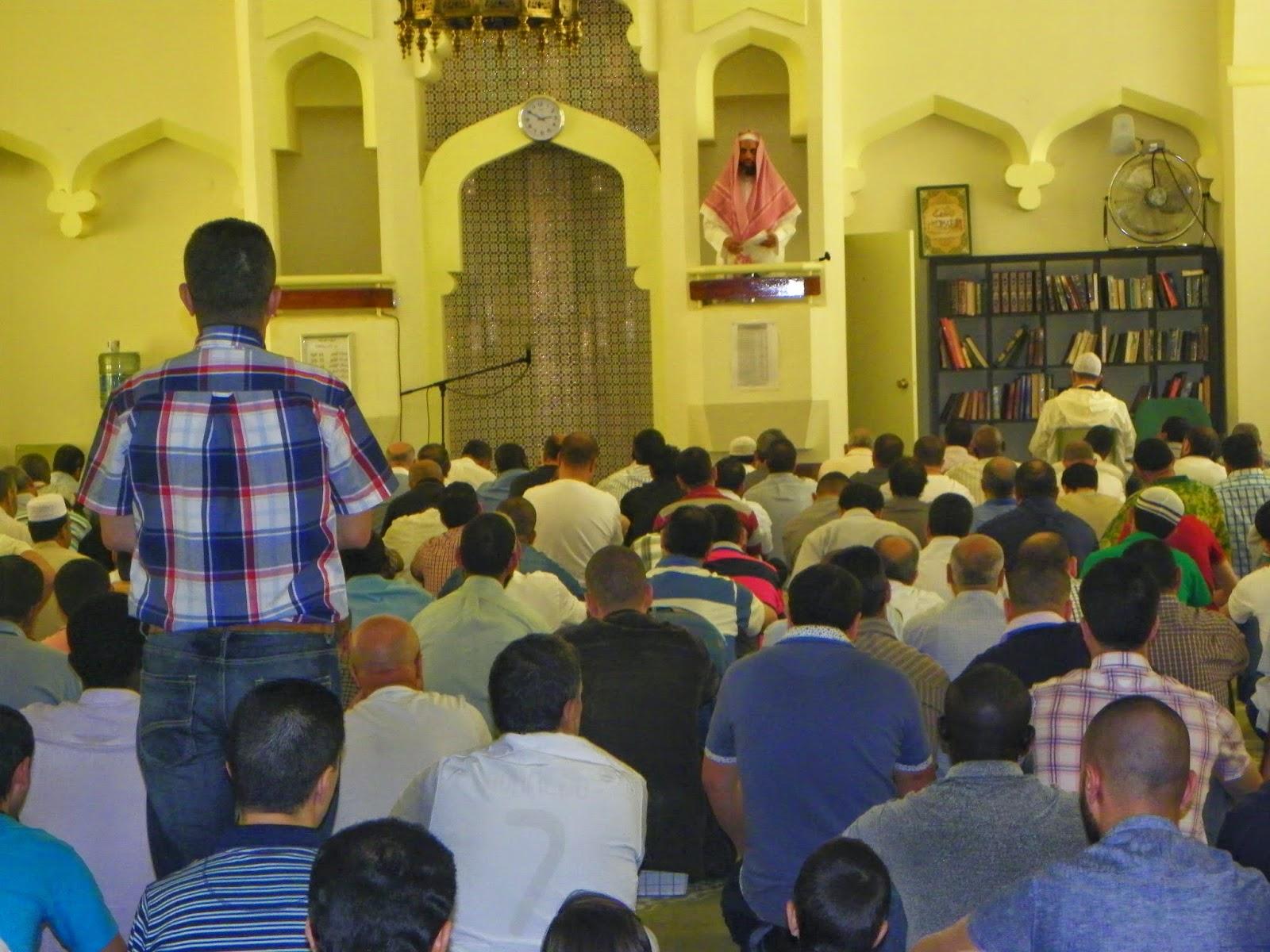 Shaij Ketaf en la Mezquita Central de Madrid