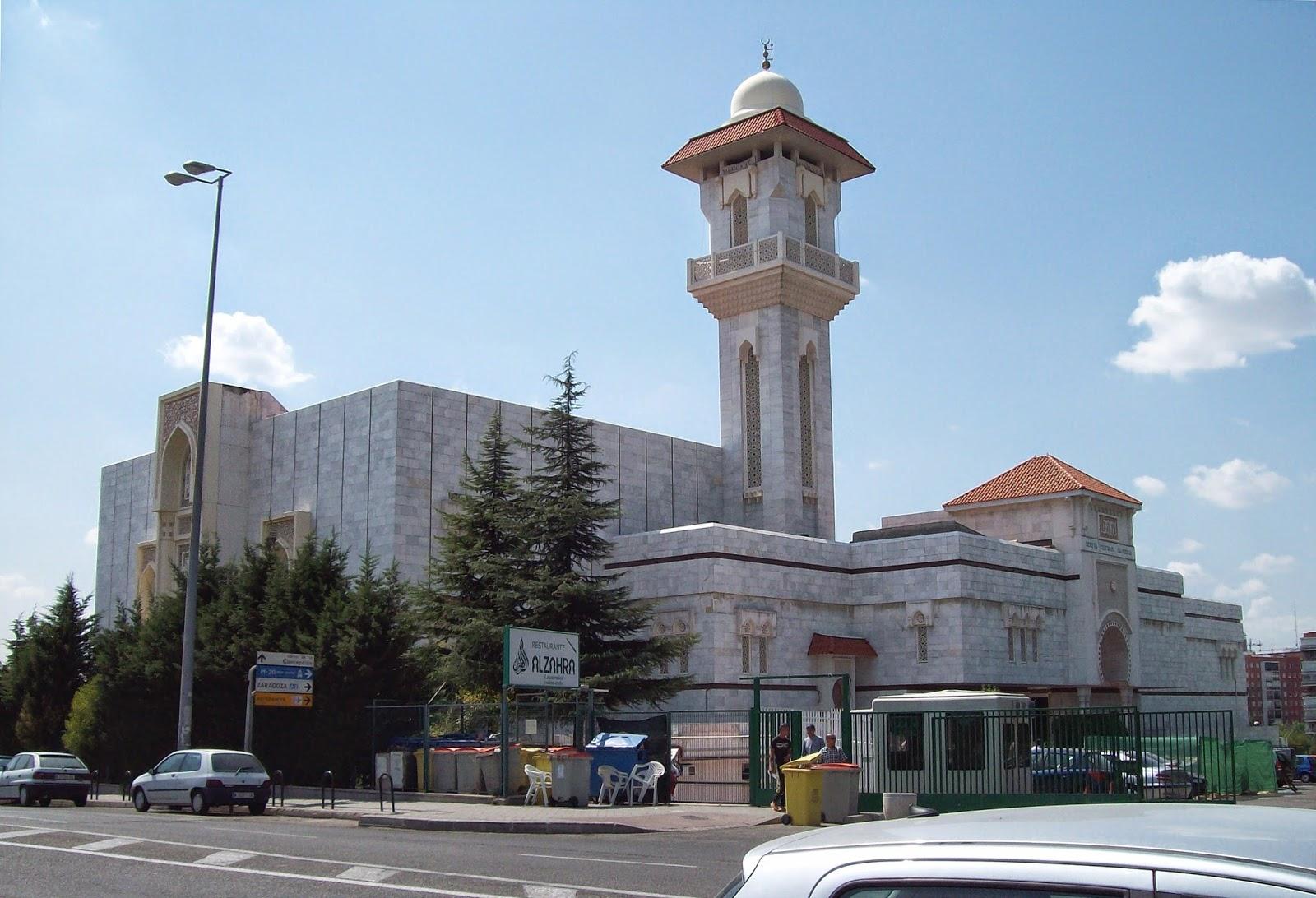 Centro Cultural Islámico de Madrid.
