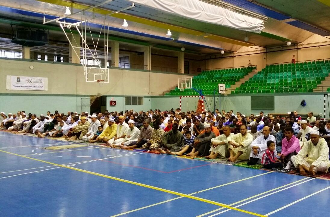 Idul Al Fitr en la Comunidad Islámica de Barbastro.