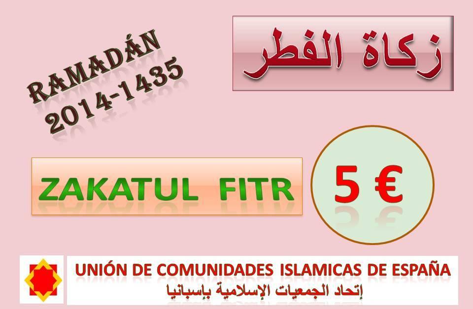 Ramadan: Zakat Al Fitr es de cinco euros por persona