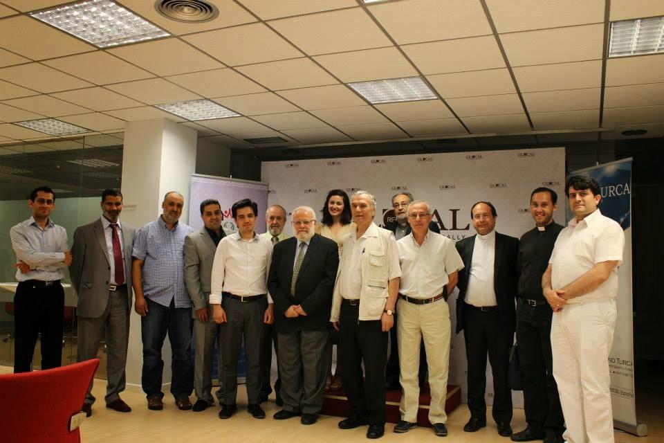 """""""IFTAR"""" Cena de Ramadán con los representantes religiosos en la Casa Turca"""