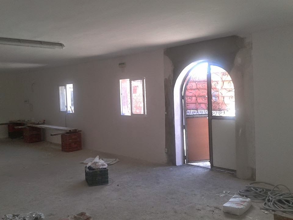 La Mezquita de Cadrieta avanza en su construcción