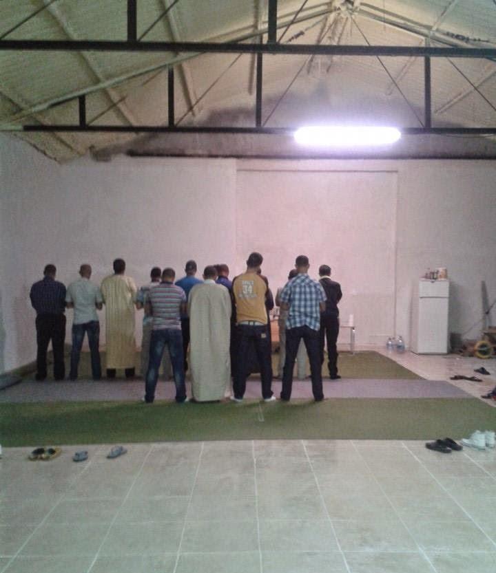 La Mezquita de Medina del Campo avanza en su construcción