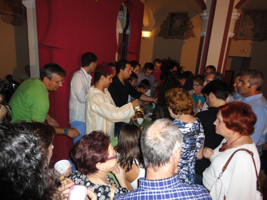 Degustación de té y pasteles árabes en la Concejalía de Cultura