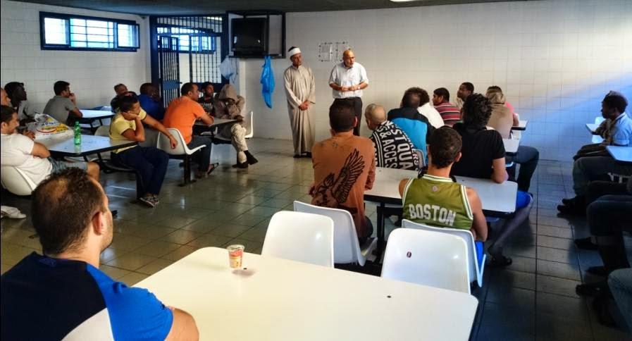 Visita a un CIEx de Valencia, ramadán 2014