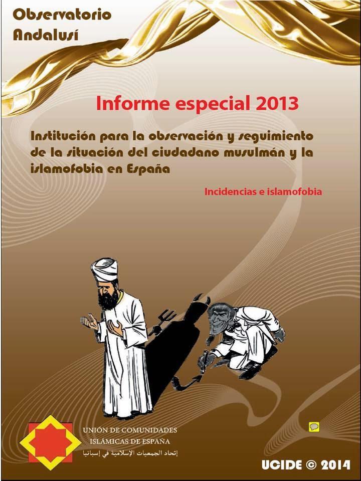 Se publica el Informe Especial J/2013 del Observatorio Andalusí