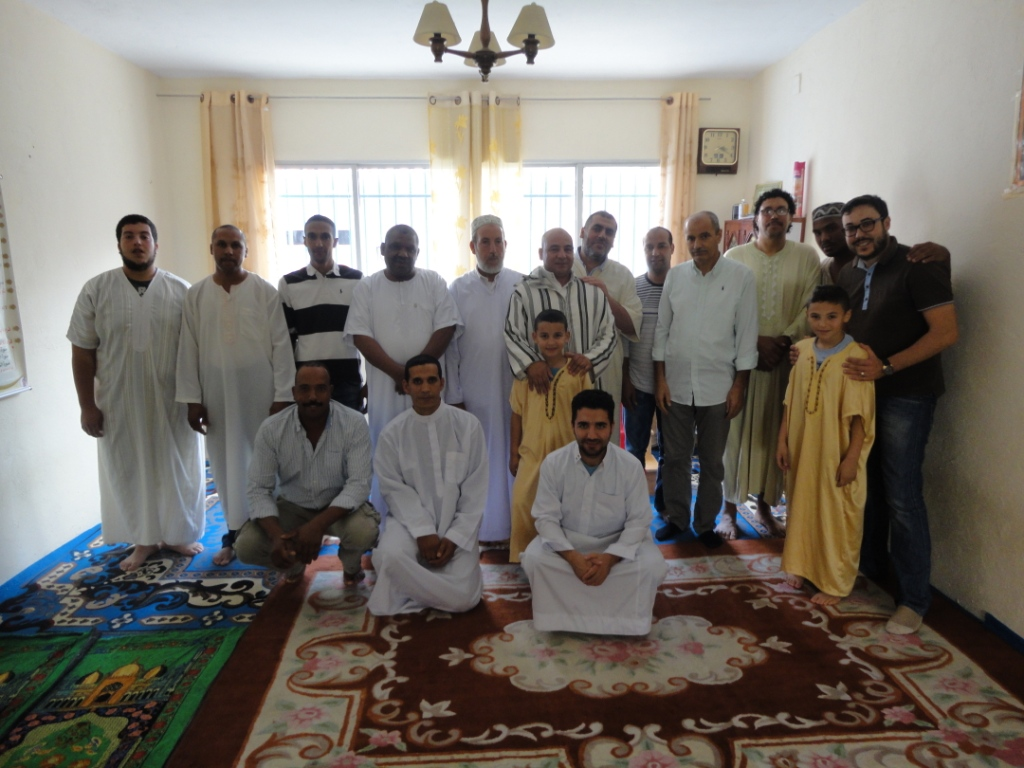 El Imam Adel Najjar visita la Mezquita de Montehermoso