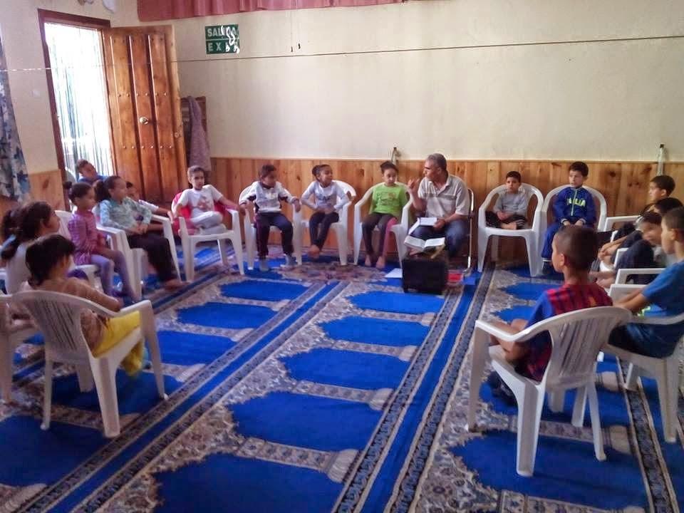 Curso de árabe y Corán en la comunidad islámica AlFaruq