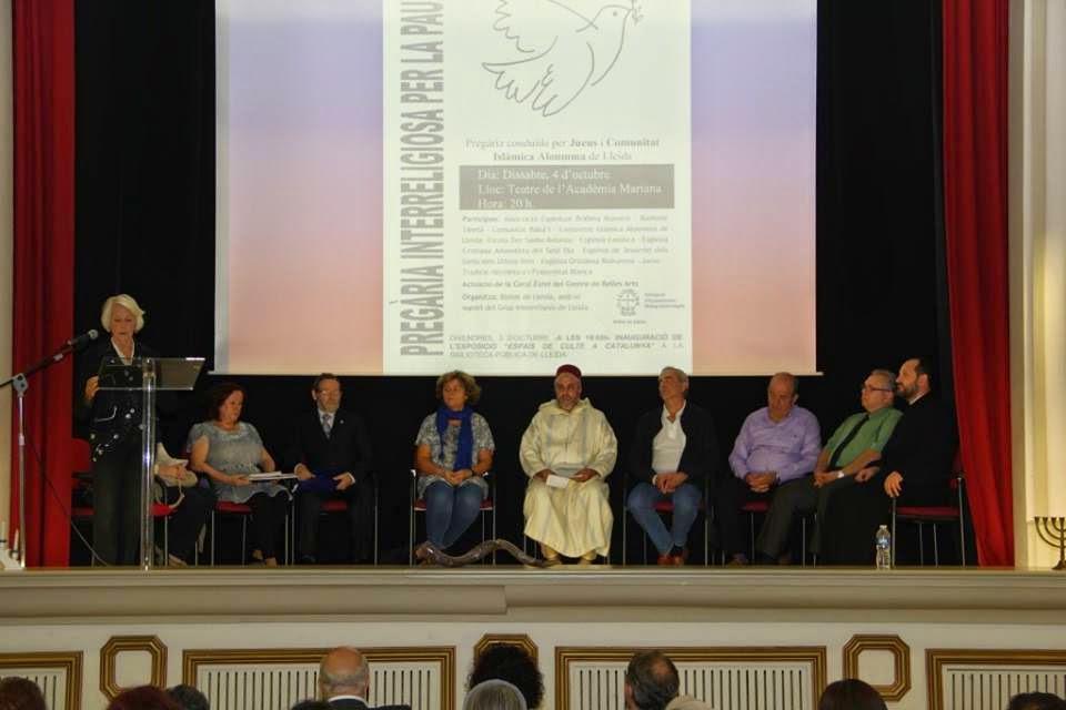 لقاء ديني في مدينة ييدا بكاطالونيا