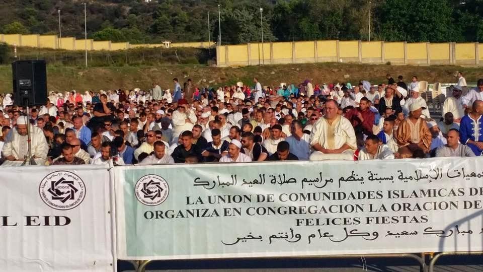 La comunidad musulmana de Ceuta festeja la Pascua del Sacrificio
