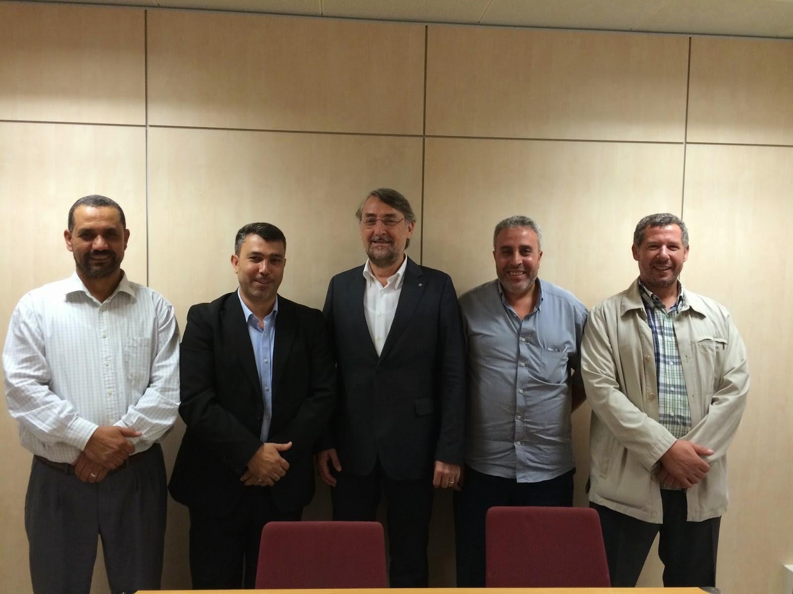 UCIDCAT se reúne con el Director General de Asuntos Religiosos de la Generalidad de Cataluña.
