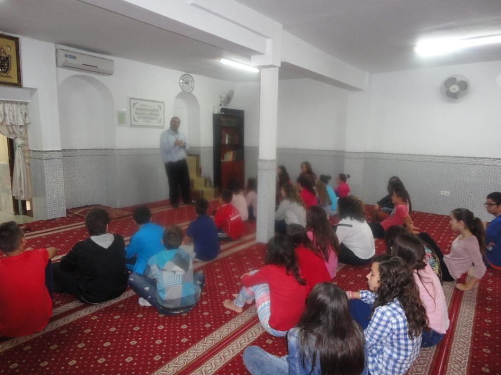 Visita intercultural del IES Extremadura