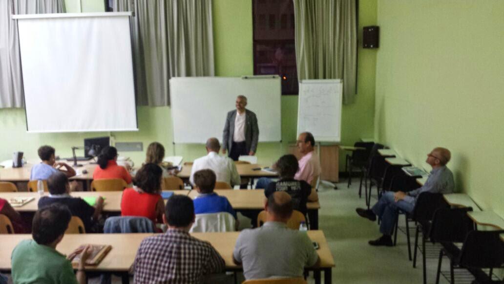 """D. Ahmad El Hanfy disertó  sobre """"el Islam por dentro""""."""
