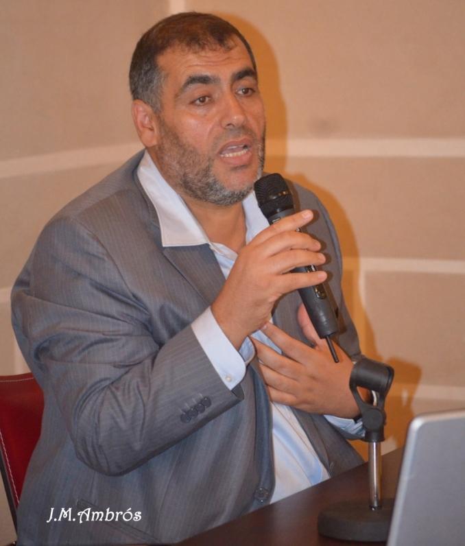 El imam de la Mezquita de Badajoz, Presidente de la Unión de Comunidades Islámicas de Extremadura, Adel Najjar