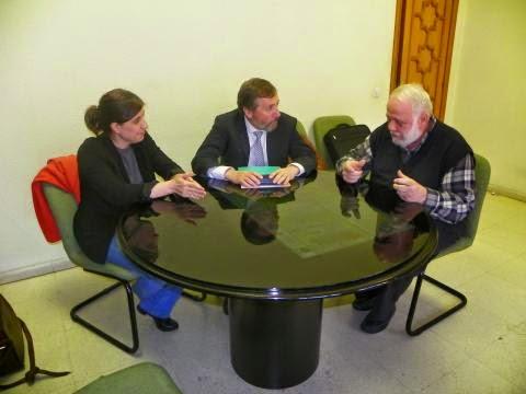 El presidente de UCIDE se reúne con el Director de la Fundación Pluralismo y Convivencia