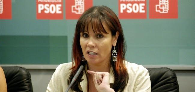 doña Micaela Navarro, Presidenta del PSOE,