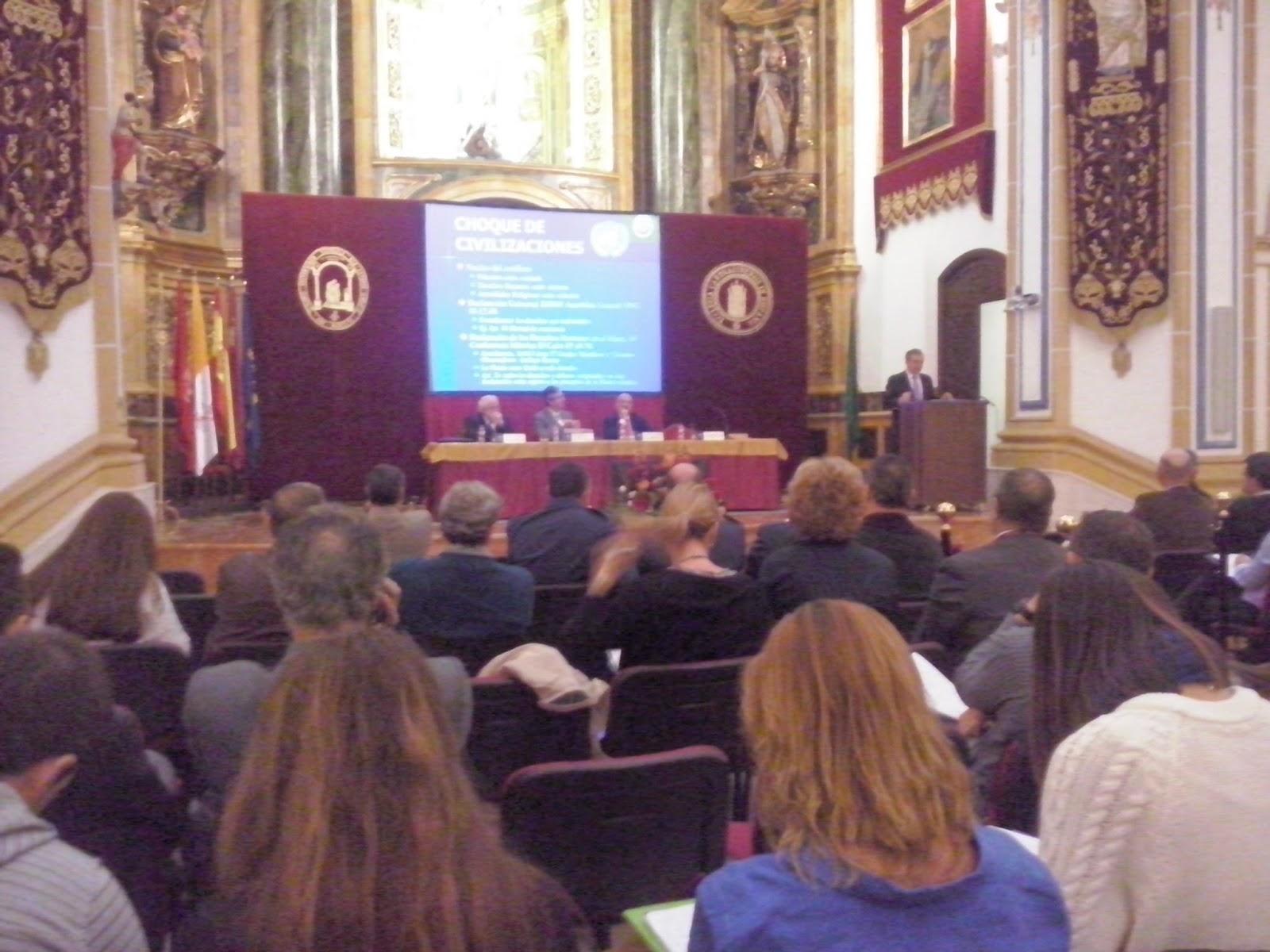 Éxito de público en la Jornada sobre terrorismo internacional