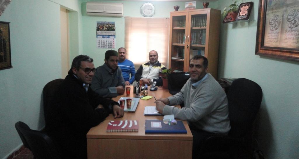 Representantes de Don Benito visitan la Mezquita de Badajoz