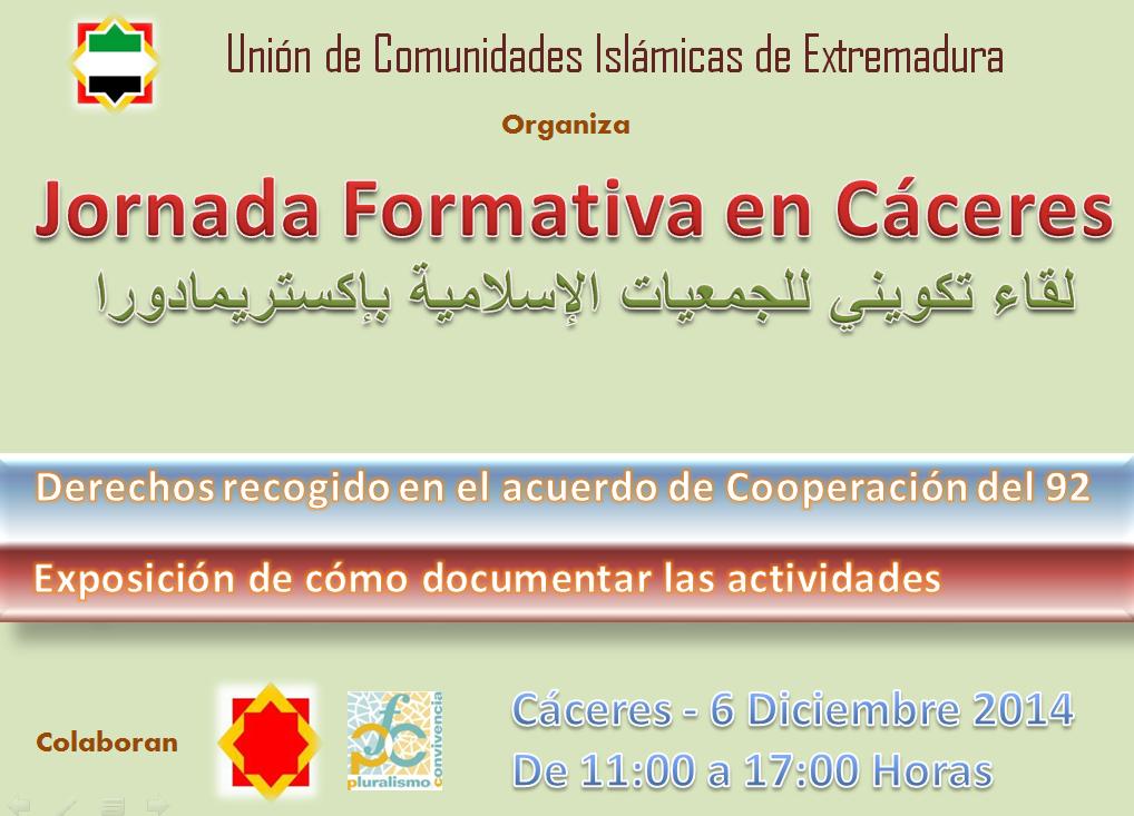 Cáceres acogerá un encuentro formativo de las comunidades islámicas de Extremadura