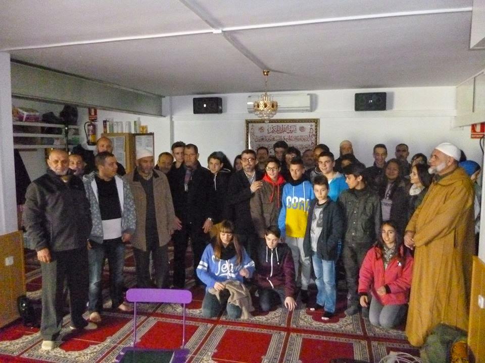 Visita escolar a la Mezquita de Esparreguera