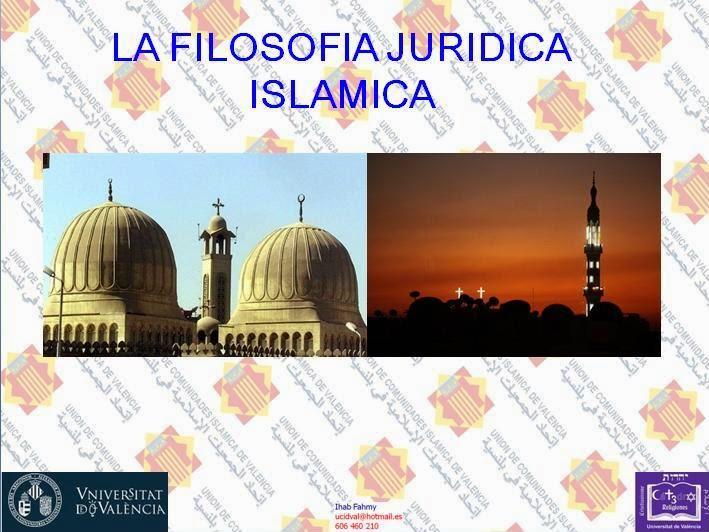 La filosofía jurídica islámica en la Universidad de Valencia