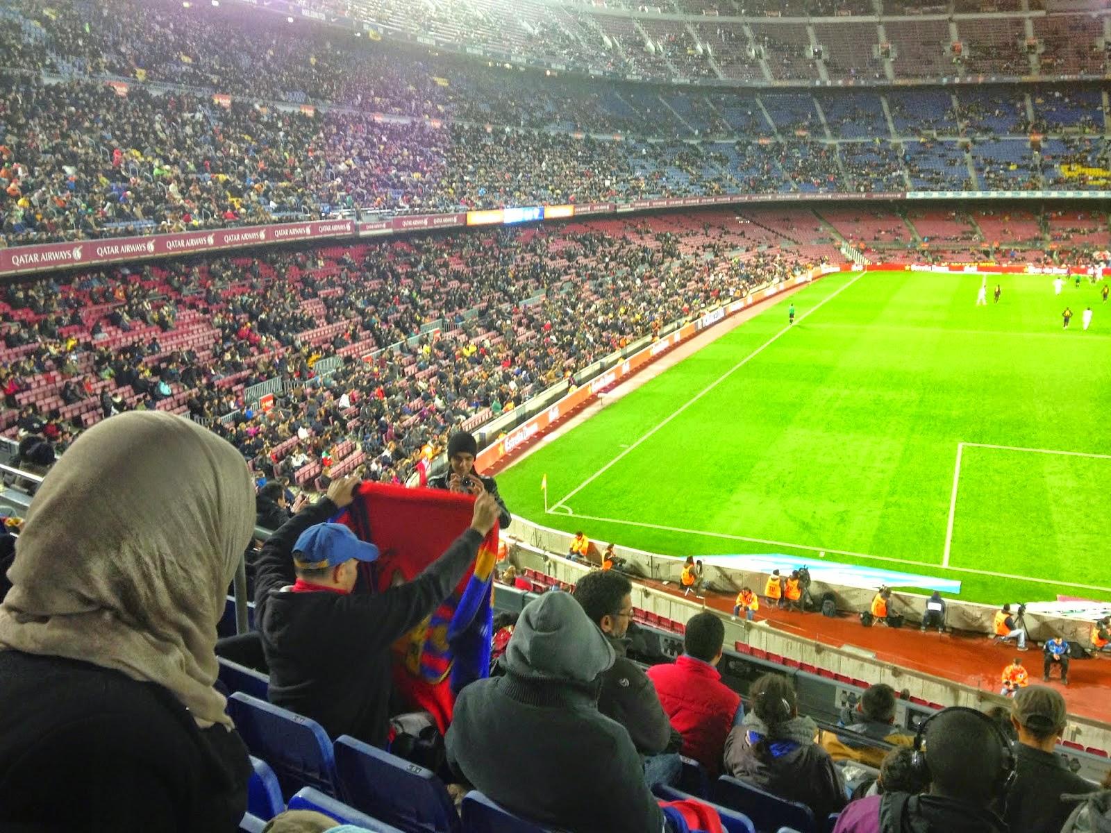 la Comunidad Islámica Al Ijlas de Terrassa organiza una salida nocturna en el Camp Nou