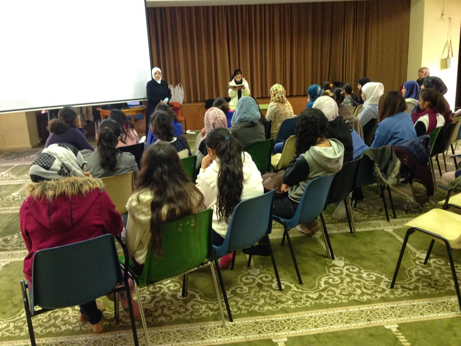 1er Encuentro Juvenil de la Mezquita Central de Madrid