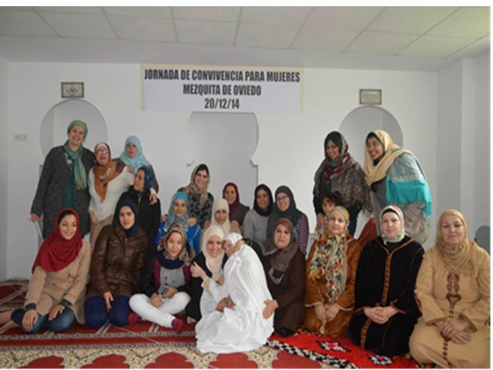 Jornada de convivencia para mujeres en la mezquita de Oviedo