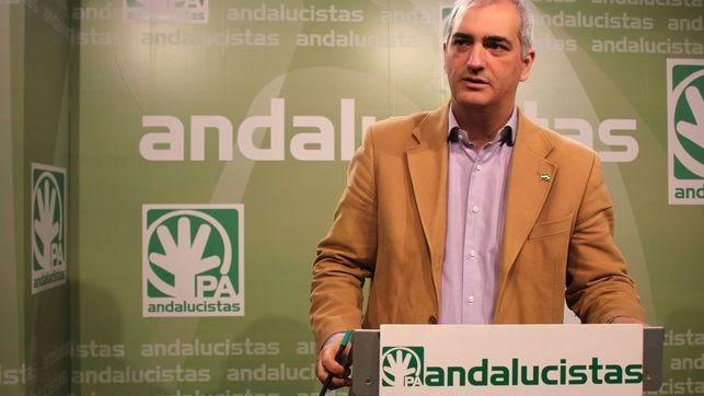 Tatary invitado al informativo con don Antonio Jesús Ruiz, Secretario General del Partido Andalucista