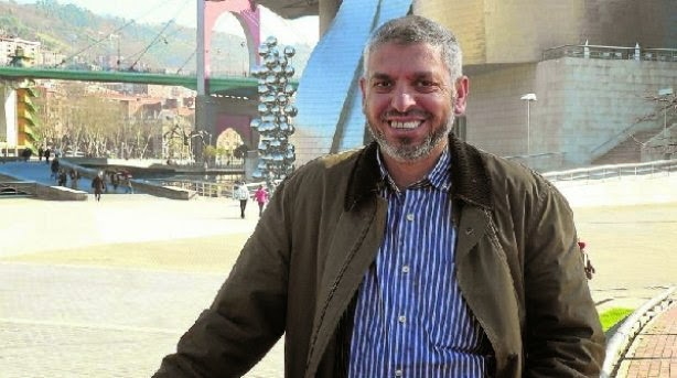 Ahmed El Hanafi, presidente del Ucide en el País Vasco.